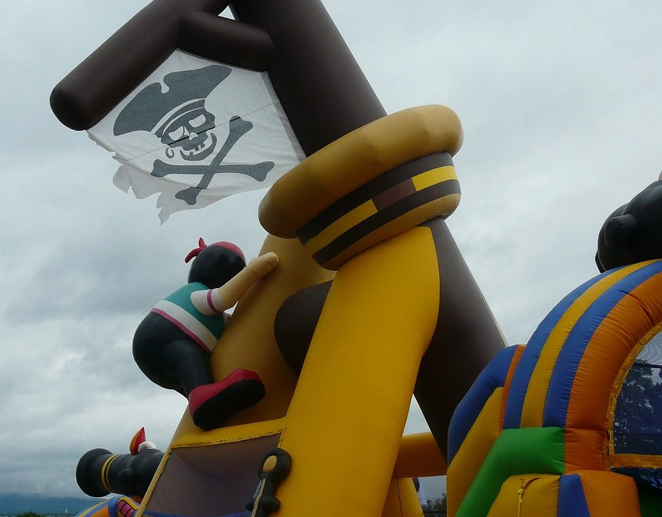 Pirate theme bounce house rentals near me