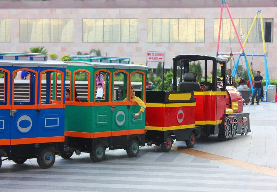 trackless train rentals Miami