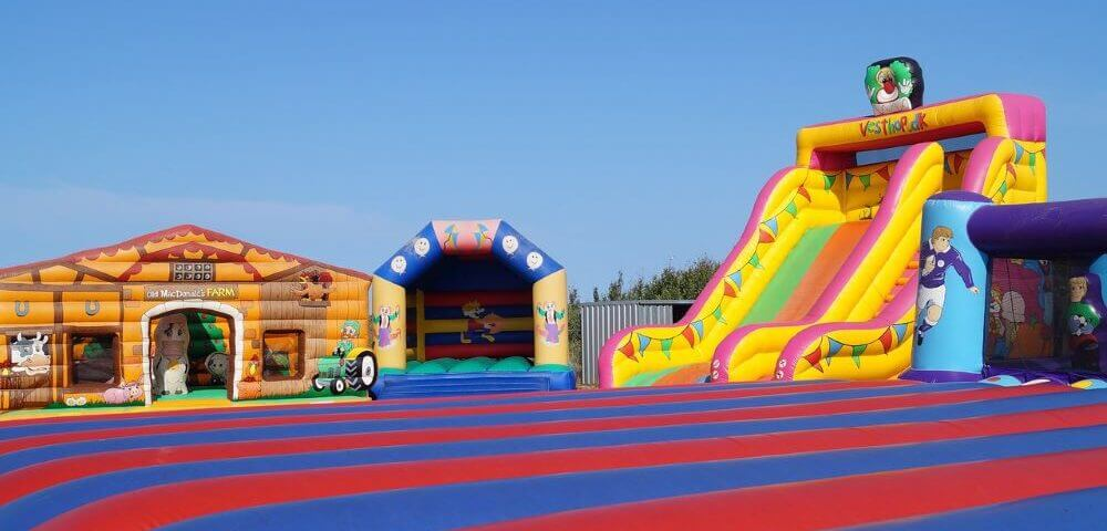 Types of Inflatable Castles