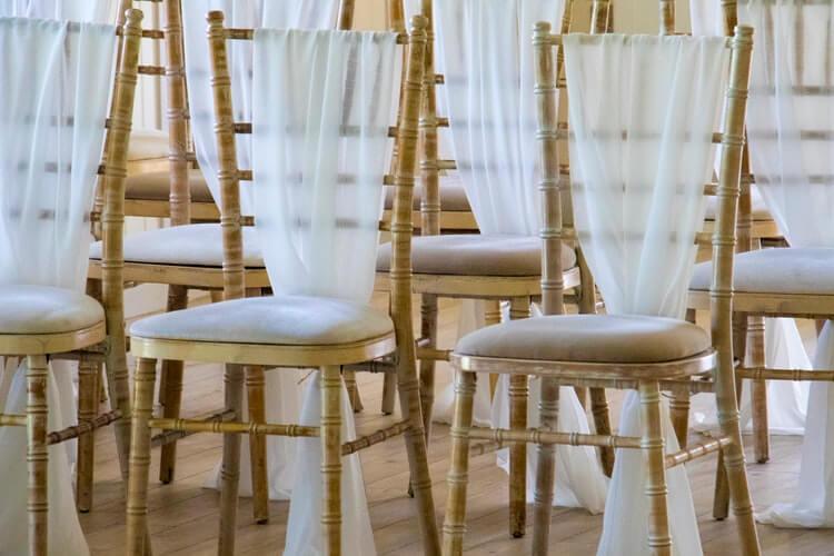 wedding chair rentals and supplies