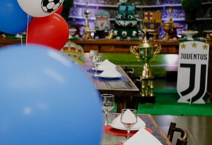 Party Rentals West Kendall hosting a Soccer Theme birthday