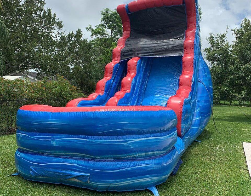 Inflatable water slide rental Miami FL