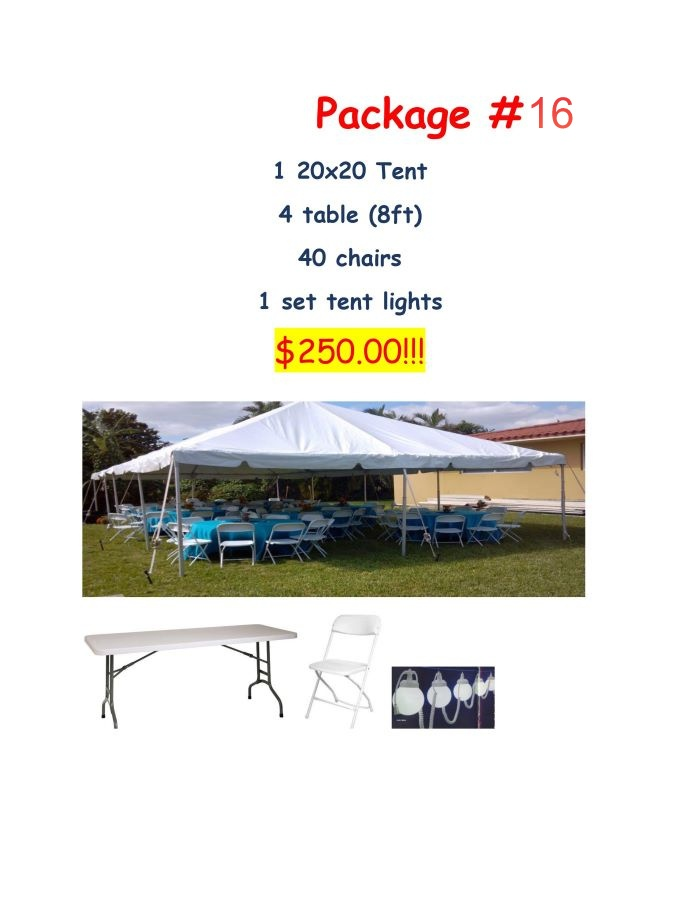 Miami party package 16