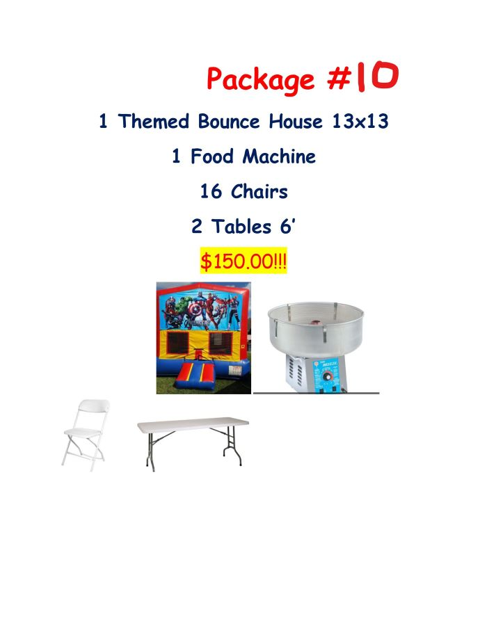 Miami party rental package #10