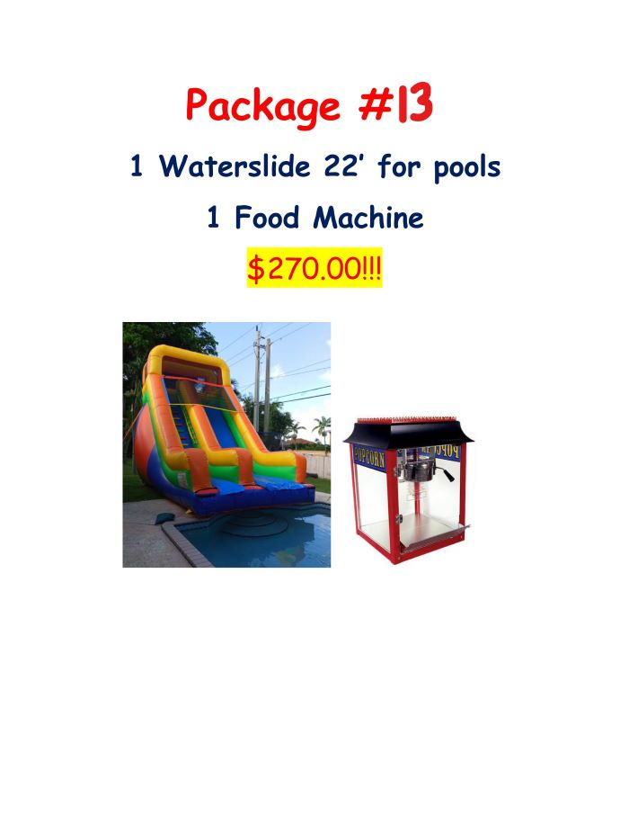 Miami party rental package #13