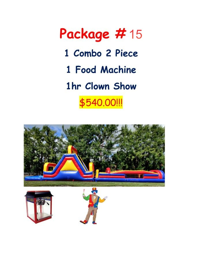 party package 15