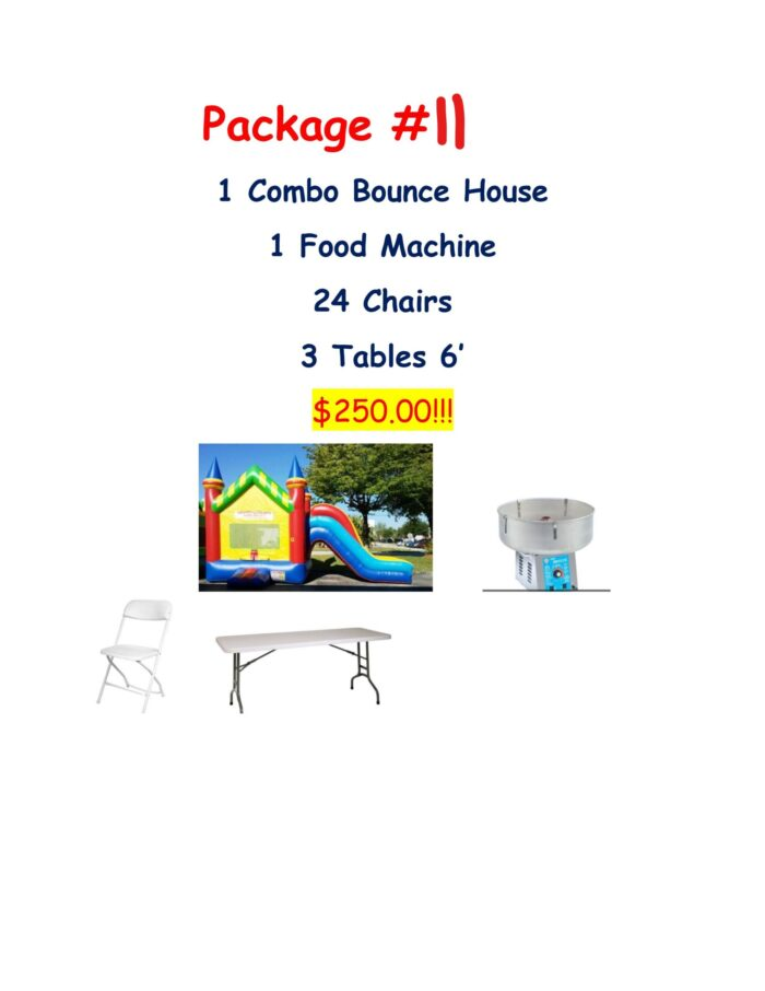 party rental package #11
