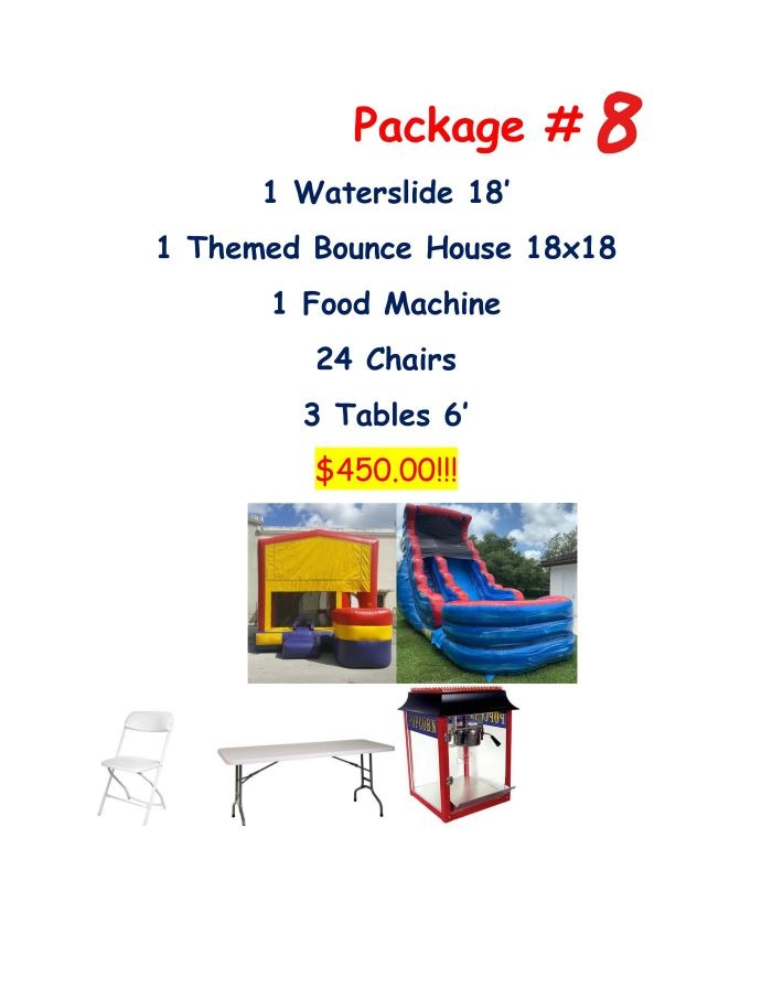 party rental package #8