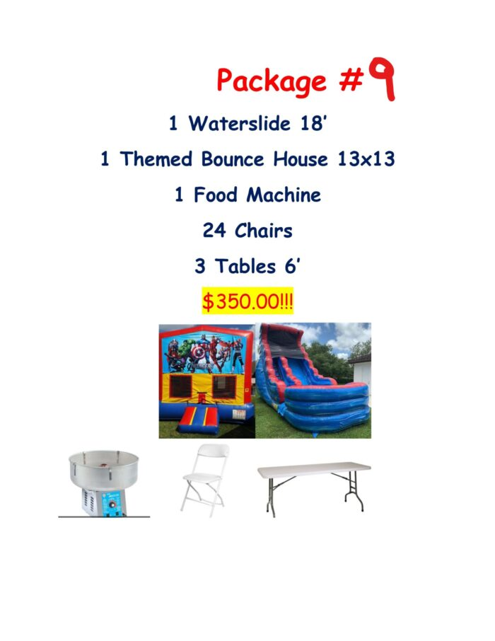 party rental package #9