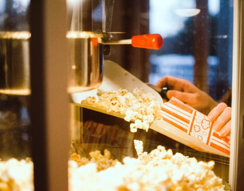 rent a popcorn machine for party