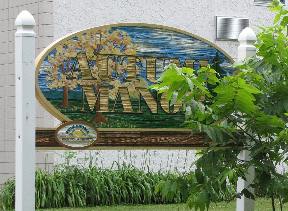 Autumn Manor Property Sign