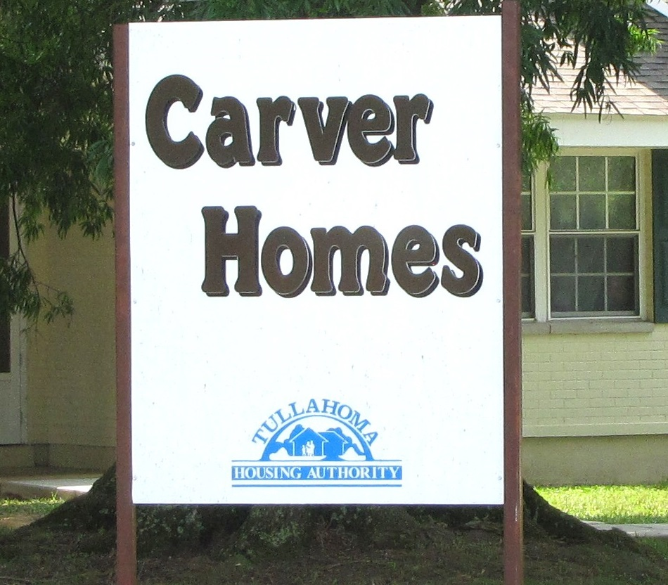 Carver Homes Property Sign