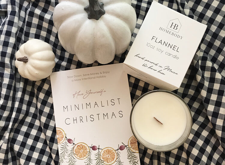 Giveaway! Signed Book + Fall Candle