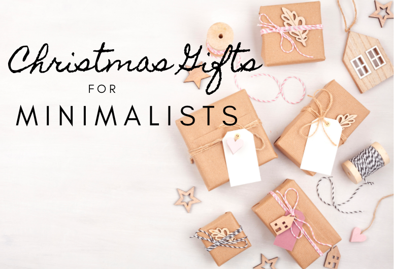 Christmas Gifts for Minimalists