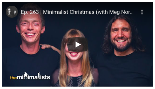 Meg Nordmann on The Minimalists
