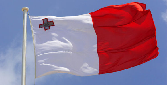 Malta Flag, Meet the Rock
