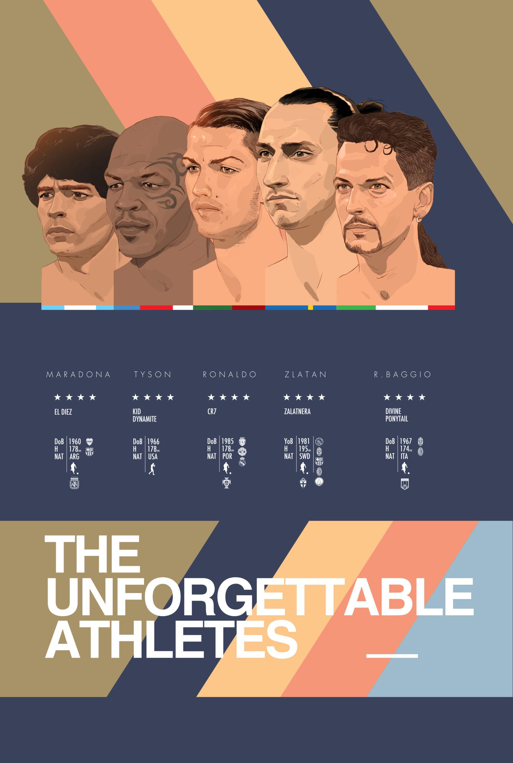 Unforgettable athletes