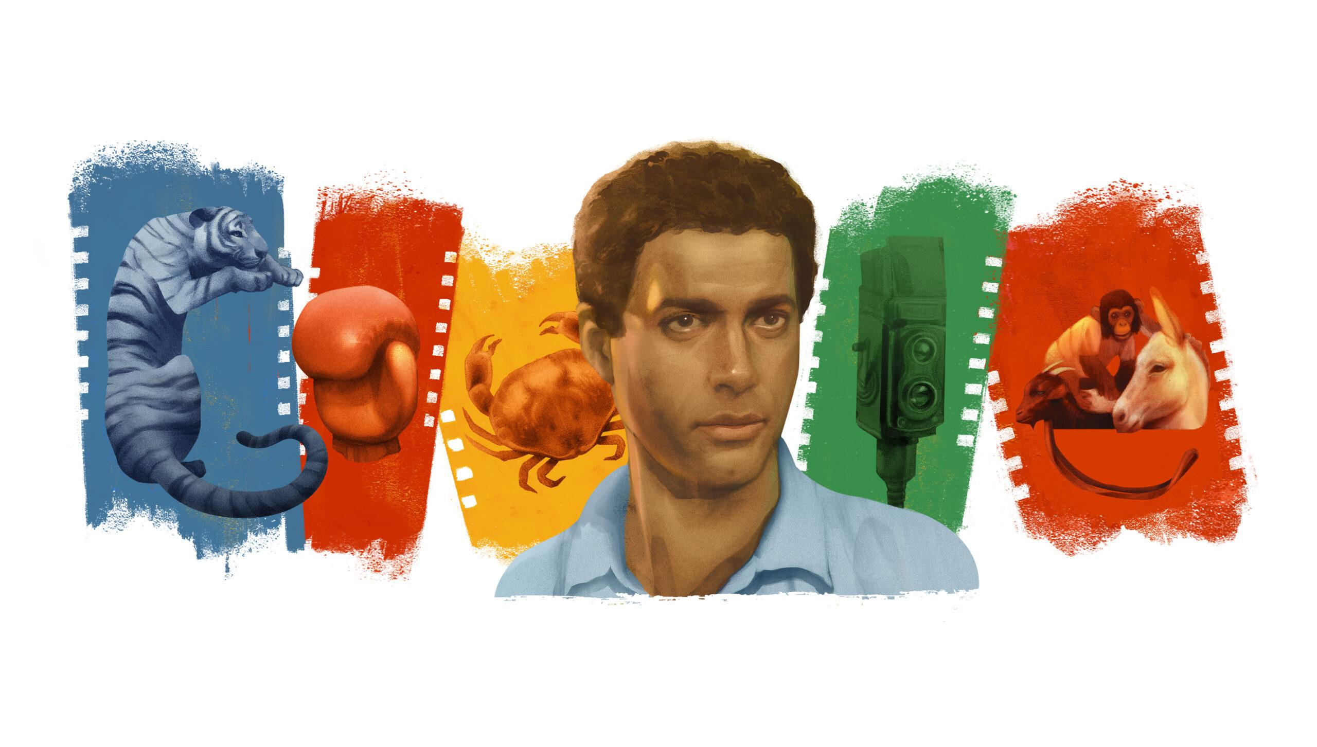 Ahmed Zaki's google doodle