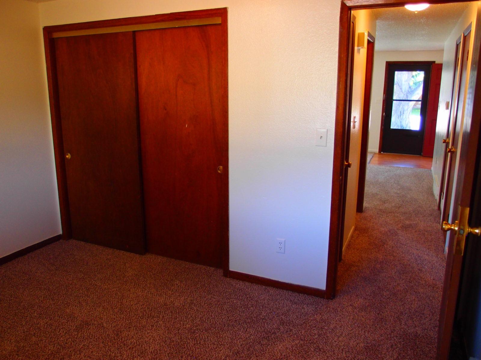 2166 Dexter: Bedroom 1 Closet