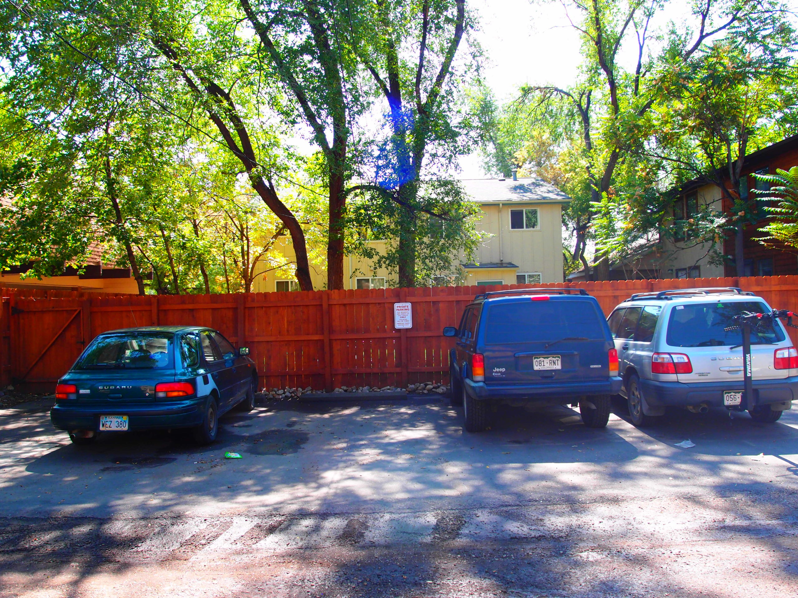 Spruce Parking