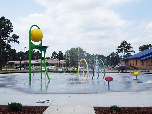 Spring Lake North Carolina Splash Pad – June 2019