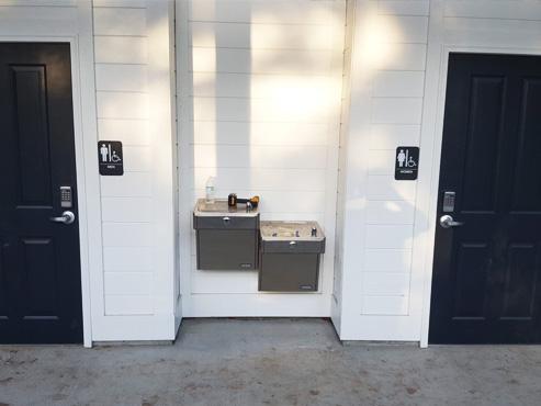 South Carolina Restroom Building
