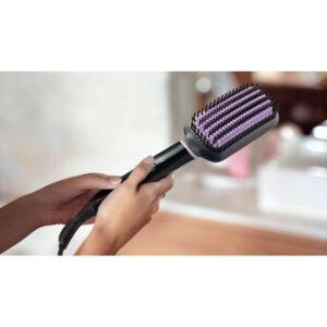philips hair straightening brush