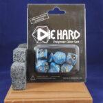 Die Hard Dice: Blue/Black Marble