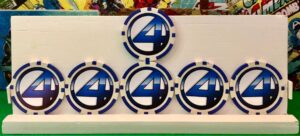Fantastic Four Action Tokens