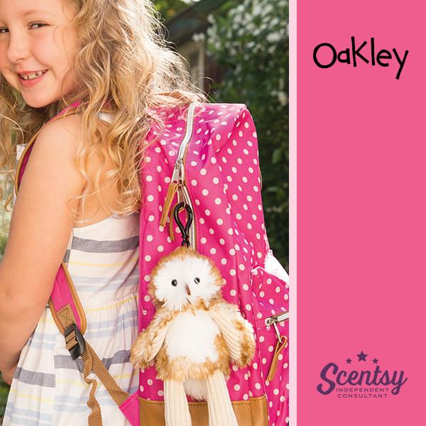 Scentsy Buddy Owl Oakley Clip