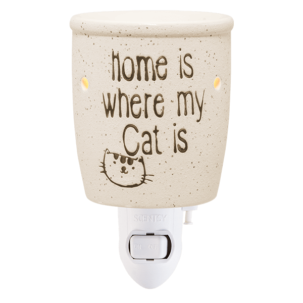 Scentsy Home is Where My Cat Is Mini Warmer