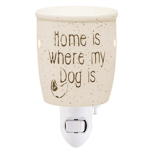 Scentsy Home Is Where My Dog Is Mini Warmer