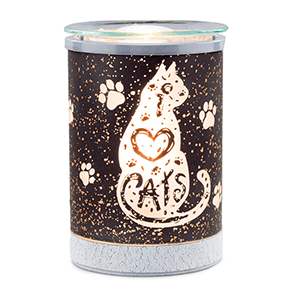 Scentsy I heart cats Warmer