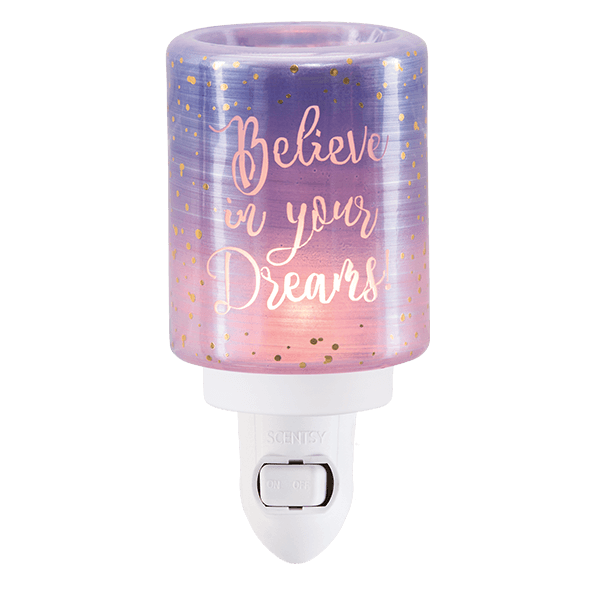 Scentsy Believe In Your Dreams Mini Warmer