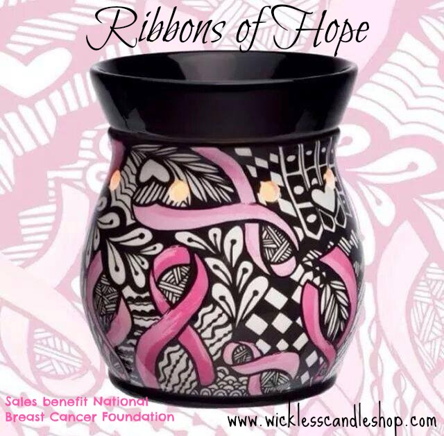 Breast Cancer Scentsy Warmer