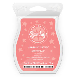 Scent of the Month Lemons & Berries July 2012