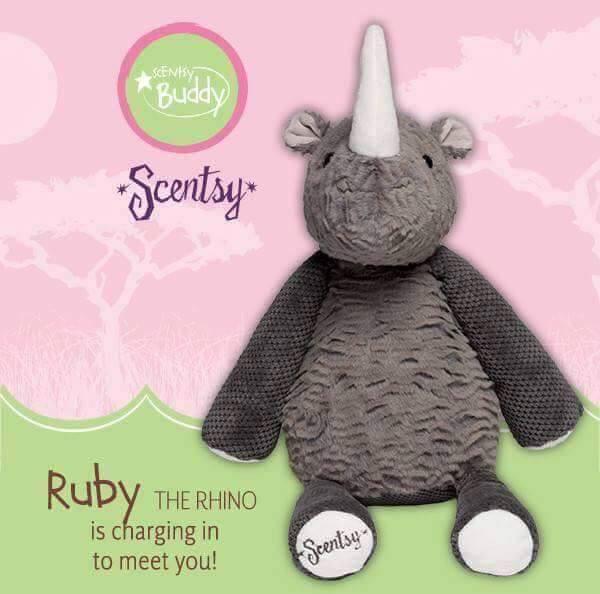 Ruby the Rhino Scentsy Buddy