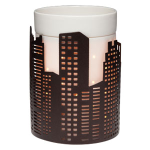 Silhouette Scentsy Wrap Downtown