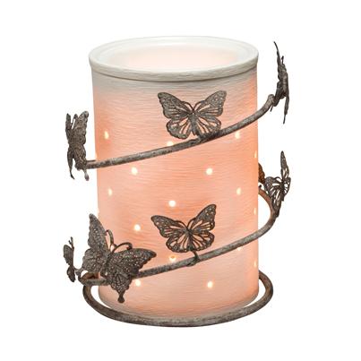 Scentsy Butterfly Wrap Silhouette Warmer