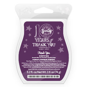 Thank You Scentsy Scent of the Month