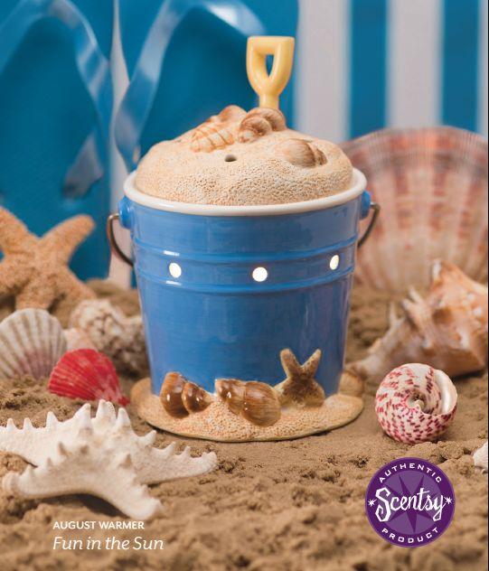 Sand Bucket Scentsy Warmer