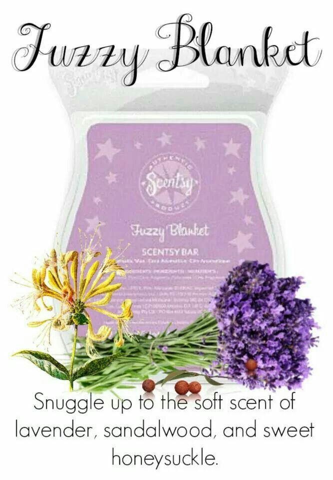 Fuzzy Blanket Scentsy Scent of the Month