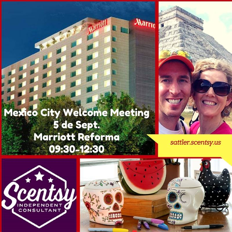 Scentsy Mexico City