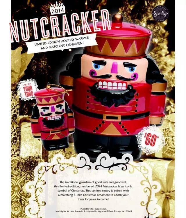 Nutcracker Warmer Ornament Scentsy
