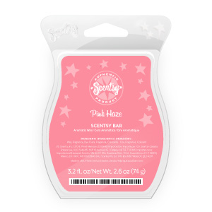 Scentsy Pink Haze Scent of Month
