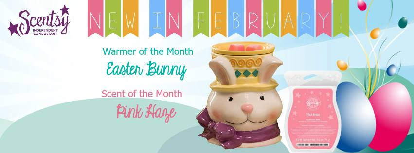 Easter Bunny WOTM Scentsy