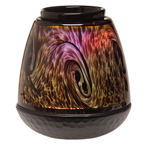 Glass Scentsy Tigers Eye Warmer