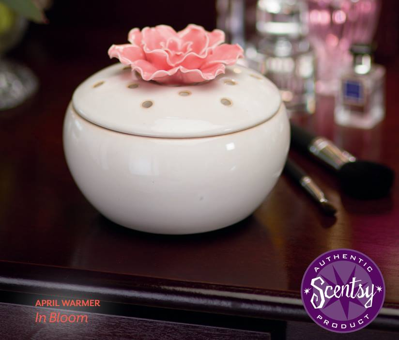In Bloom Scentsy Warmer Element