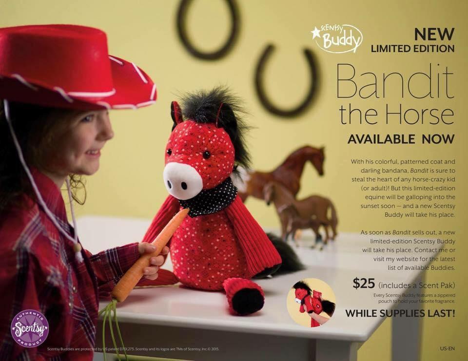 Scentsy Buddy Horse