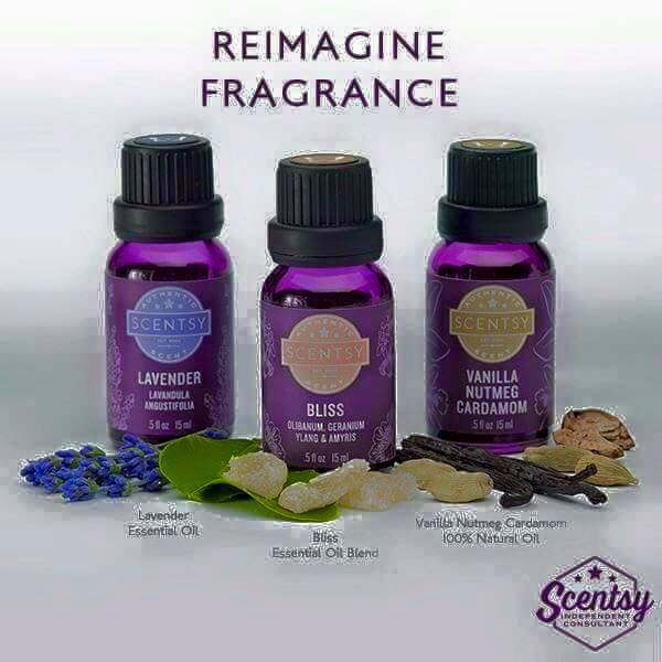 Scentsy Essential Natural Oils